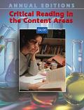 Critical Reading in the Content Areas 04/05