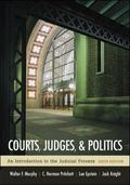 Courts, Judges, & Politics An Introduction to the Judicial Process