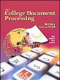Gregg College Keyboarding & Document Processing (Gdp), Kit 2 for Word 2003 Lessons 61-120/no...