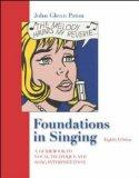 Foundations In Singing