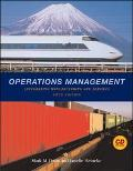 Operations Management Integrating Manufacturing and Services