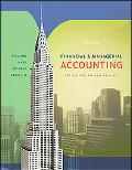 Financial & Managerial Accounting The Basis for Business Decisions
