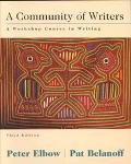 Community of Writers A Workshop Course in Writing