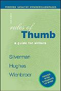 Rules of Thumb A Guide for Writers