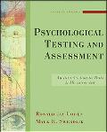 Psychological Testing and Assess
