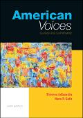 American Voices Culture and Community