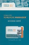 Homework Manager to accompany Operations Management (card)