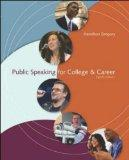 Public Speaking for College & Career (Course Tools Suite w/ Audio Abridgement CD)