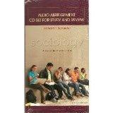 Audio Abridgement CD set for study and review, SOCIOLOGY Brief Introduction 7/e by Richard T...