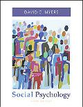 Social Psychology with SocialSense Student CD-ROM