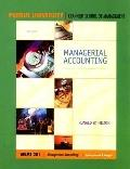 Managerial Accounting Mgmt 201: Creating Value in a Dynamic Business Environment