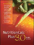 NutritionCalc Plus 3. 0 CD-ROM