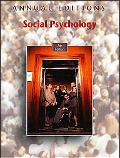 Annual Editions Social Psychology