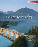 College Accounting Student Edition Chapters 1-30