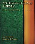 Anthropological Theory An Introductory History