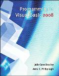 Programming in Visual Basic 2008