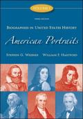 American Portraits Biographies in United States History Volume 1