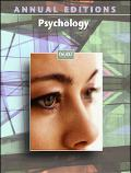Annual Editions: Psychology 06/07 - Karen G. Duffy - Paperback