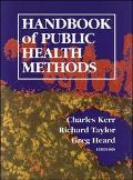 Handbook of Public Health Methods