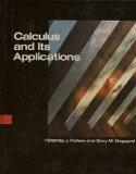Calculus and Its Applications - Stanley J. Farlow - Hardcover