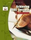 Achieving Tabe Success in Language, Tabe 9 and 10 Level M