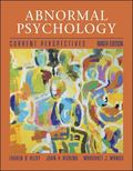 Abnormal Psychology: Current Perspectives with MindMAP Plus CD-ROM