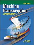 Machine Transcription Short Course w/ student CD + Audio CD MP3 Format