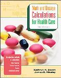 Math and Dosage Calculations for Health Careers with Student CD