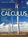 Applied Calculus for Business, Economics, and the Social and Life Sciences,