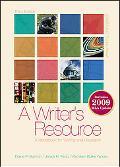 A Writer's Resource 2009 APA & MLA Update, Student Edition