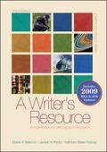 A Writer's Resource (spiral-bound) 2009 APA & MLA Update, Student Edition