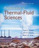 Fundamentals of Thermal-Fluid Sciences with Student Resource DVD