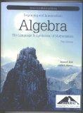 Algebra: The Language and Symbolism of Mathematics