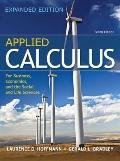 Combo: Applied Calculus for Business, Economics, and the Social and Life Sciences, Expanded ...