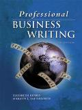 Professional Business Writing