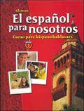 Espanol Para Nosotros Curso Para Hispanohablantes Level 1