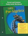 Pre-algebra, Parent And Study Guide Workbook