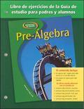Pre-algebra, Spanish Parent And Study Guide Workbook