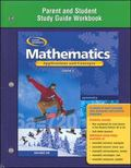 Mathematics Applications And Concepts, Course 2, Parent And Study Guide Workbook