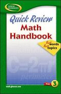 Quick Review Math Handbook Hot Words, Hot Topics, Book 3