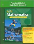 Mathematics Applications And Concepts, Course 3, Parent And Study Guide Workbook