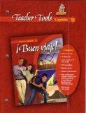 Buen Viaje Teacher Tools Fast File Capitulo 11 Glencoe Spanish 1
