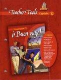 Buen Viaje Teacher Tools Fast File Capitulo 12 Glencoe Spanish 1
