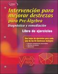 Skills Intervention for Pre-algebra Diagnosis And Remediation, Spanish Student Workbook
