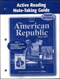 American Republic Since 1877, Active Reading Note-taking Guide