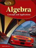 Algebra Concepts and Applications (National)