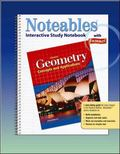 Geometry Concepts And Applications, Noteables Interactive Study Notebook With Foldables
