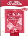 American Journey, Reconstruction to the Present, Active Reading Note-taking Guide