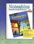 Geometry:Concepts And Applications, Noteables Interactive Study Notebook With Foldables
