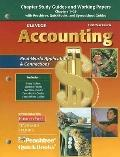 Glencoe Accounting First Year Course, Chapter Study Guides And Working Papers Chapters 1-29